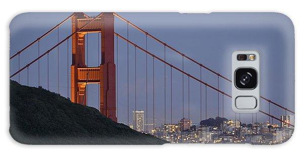 Golden Gate Bridge At Dusk Galaxy Case