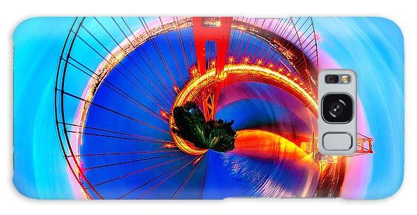 Colours Galaxy Case - Golden Gate Bridge Circagraph by Az Jackson