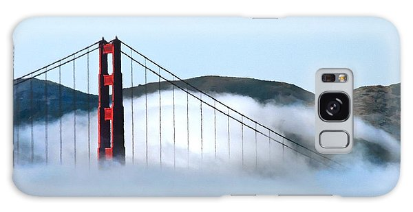 Golden Gate Bridge Clouds Galaxy Case