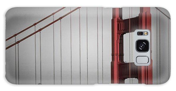 Town Square Galaxy Case - Golden Gate Bridge - Downtown View by Melanie Viola