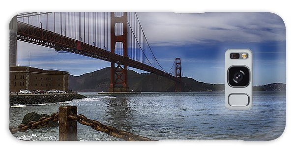 Cultural Center Galaxy Case - Golden Gate Bridge Fort Point by Garry Gay