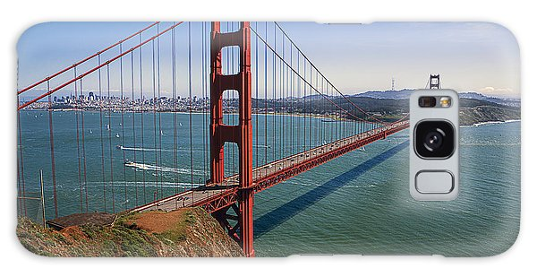 Cultural Center Galaxy Case - Golden Gate Bridge by Garry Gay