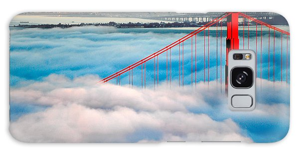 Golden Gate Bridge In Fog Galaxy Case