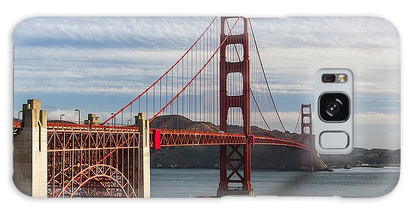 Golden Gate Bridge Morning Light Galaxy Case