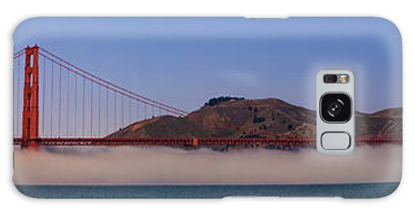 Golden Gate Bridge Over Fog Panorama Galaxy Case