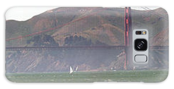 Golden Gate Bridge Panorama Galaxy Case