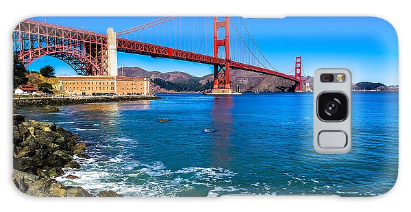 Golden Gate Bridge San Francisco Bay Galaxy Case
