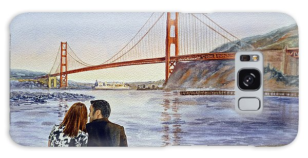 Golden Gate Bridge San Francisco - Two Love Birds Galaxy Case