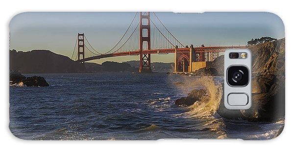 Golden Gate Bridge Sunset Study 2 Galaxy Case