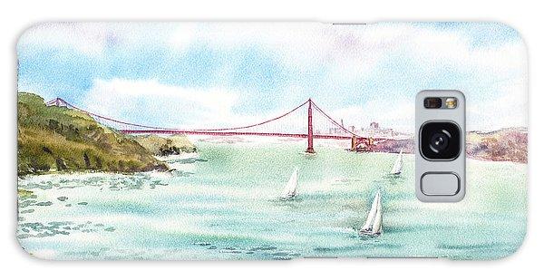 Golden Gate Bridge View From Point Bonita Galaxy Case