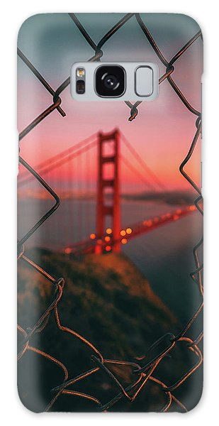 Usa Galaxy Case - Golden Gate Caged by David George