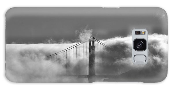 Golden Gate Fog Galaxy Case