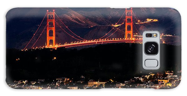 Golden Gate Sunrise Galaxy Case