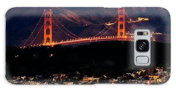 Golden Gate Sunrise Galaxy Case