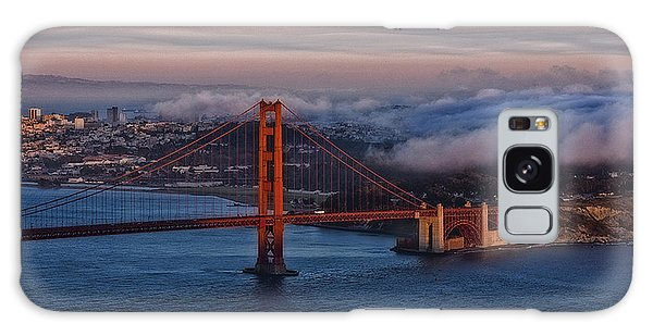 Golden Gate Sunset Galaxy Case
