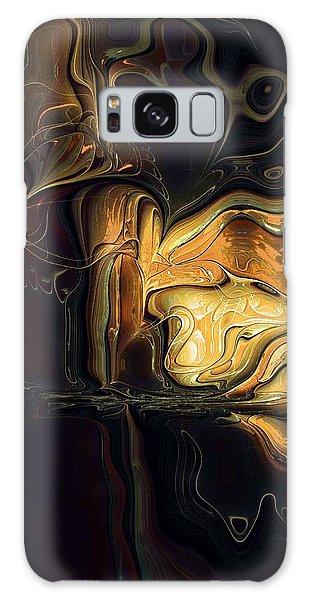 Golden Glory Galaxy Case