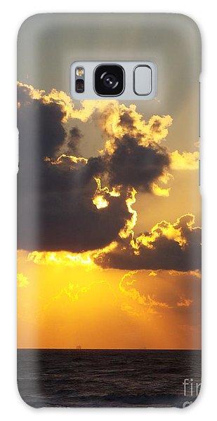 Golden Glow 2 Galaxy Case