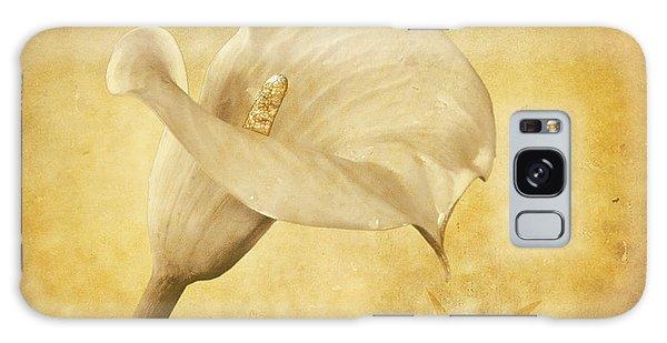 Golden Glow Cala Lily Galaxy Case