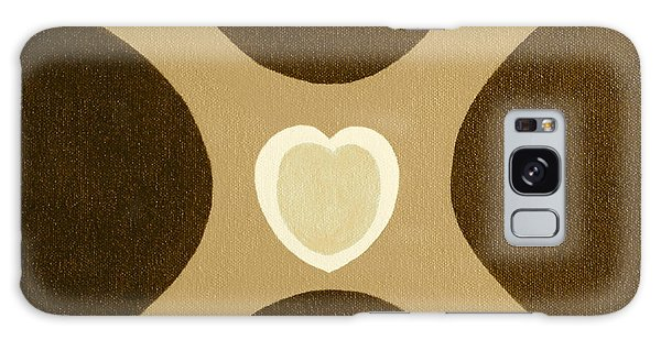 Golden Heart 3 Galaxy Case