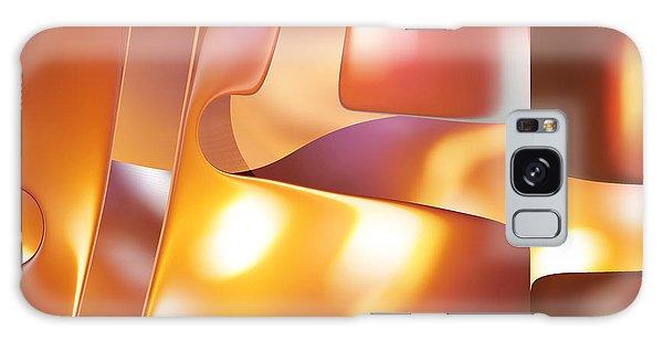 Golden Light Galaxy Case by rd Erickson