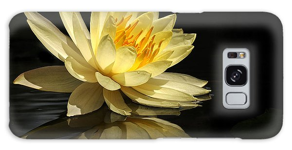 Golden Lotus Galaxy Case