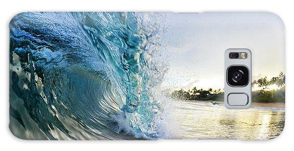 Beaches Galaxy Case - Golden Mile by Sean Davey