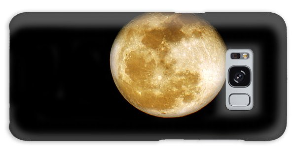 Golden Moon Galaxy Case