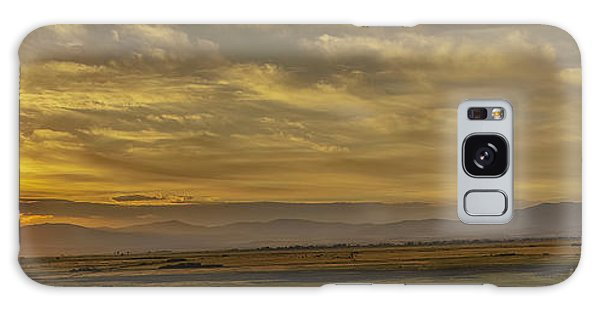 Golden Morning Galaxy Case by Nancy Marie Ricketts
