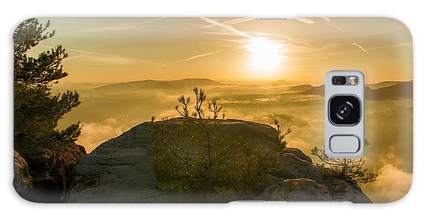 Golden Morning On The Lilienstein Galaxy Case