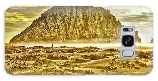 Golden Morro Bay Galaxy Case