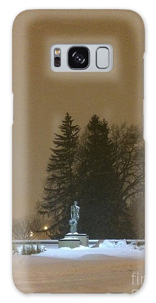 Golden Night Galaxy Case