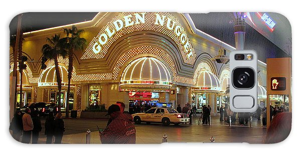 Golden Nugget Galaxy Case by Kay Novy