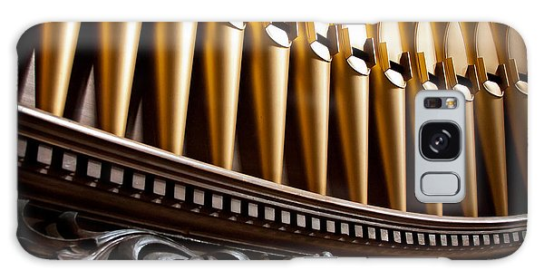 Golden Organ Pipes Galaxy Case