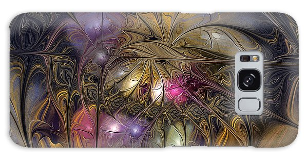 Golden Ornamentations-fractal Design Galaxy Case