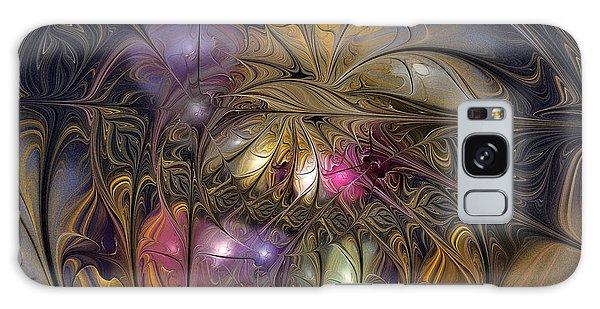 Fractal Design Galaxy Case - Golden Ornamentations-fractal Design by Karin Kuhlmann