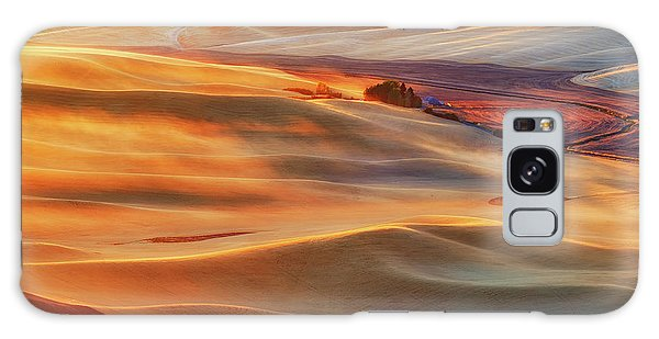 Countryside Galaxy Case - Golden Palouse by Lydia Jacobs