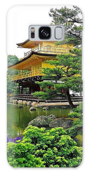 Golden Pavilion - Kyoto Galaxy Case by Juergen Weiss
