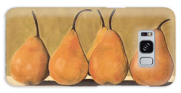 Golden Pears  Galaxy Case