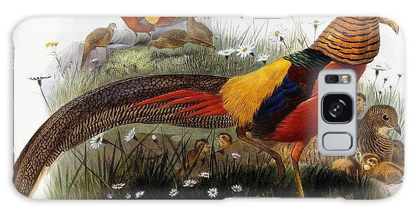 Golden Pheasants Galaxy S8 Case