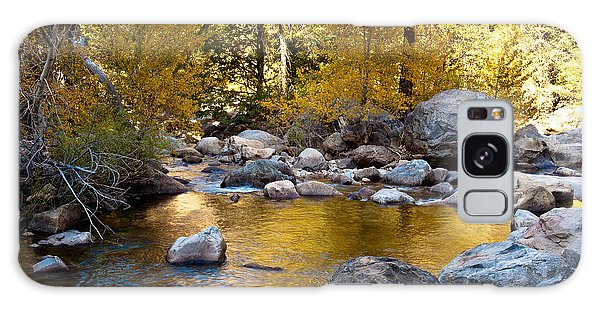 Golden Pool On Roaring River  1-7797 Galaxy Case