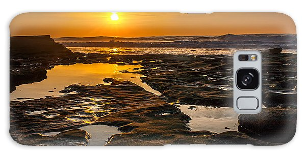 Featured Images Galaxy Case - Golden Pools by Peter Tellone