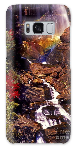 Golden Rainbow Galaxy Case by Paul W Faust -  Impressions of Light