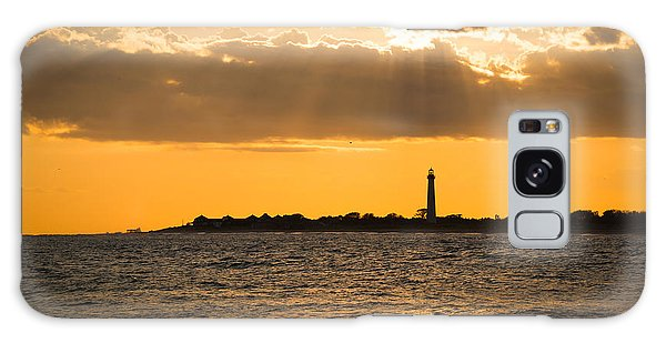 Cape May Galaxy Case - Golden Rays At Cape May by Michael Ver Sprill