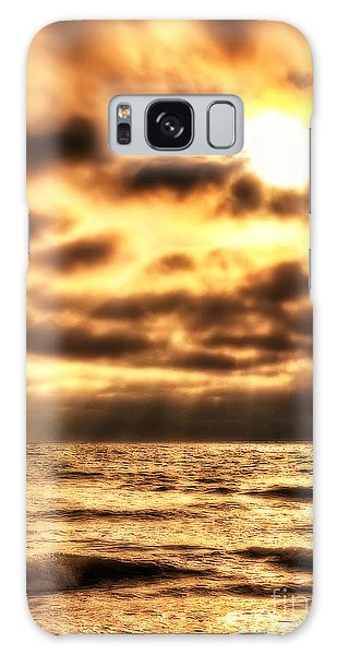 Golden Rays On The Ocean Galaxy Case
