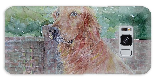 Golden Retriever Galaxy Case by Gloria Turner