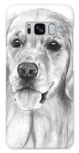 Golden Retriever Jessie Adult Galaxy Case by Kate Sumners