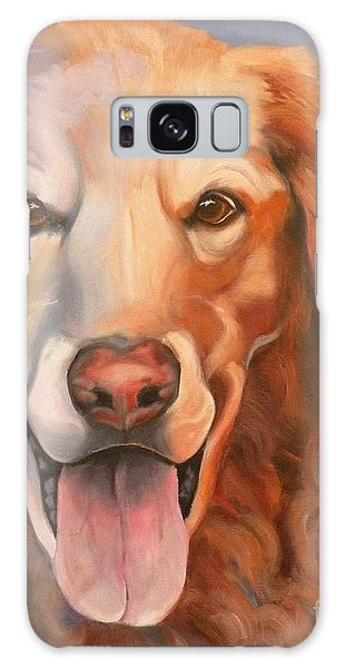 Golden Retriever Till There Was You Galaxy Case