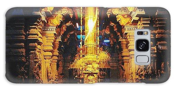 Religious Galaxy Case - Golden Rod In Meenakshi Temple by Raimond Klavins