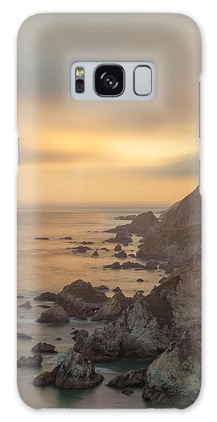 Golden Seashore Galaxy Case