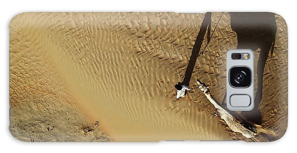 Sand Galaxy Case - Golden Shadows by Shoayb Hesham Khattab